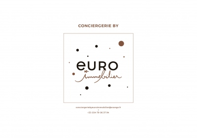CONCIERGERIE BY EURO IMMOBILIER
