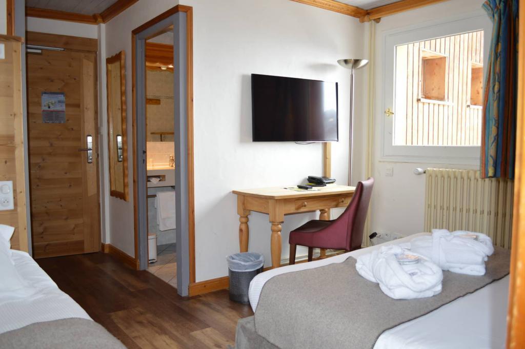 Reservation HÔTEL LE GENTIANA - HOTELS Tignes