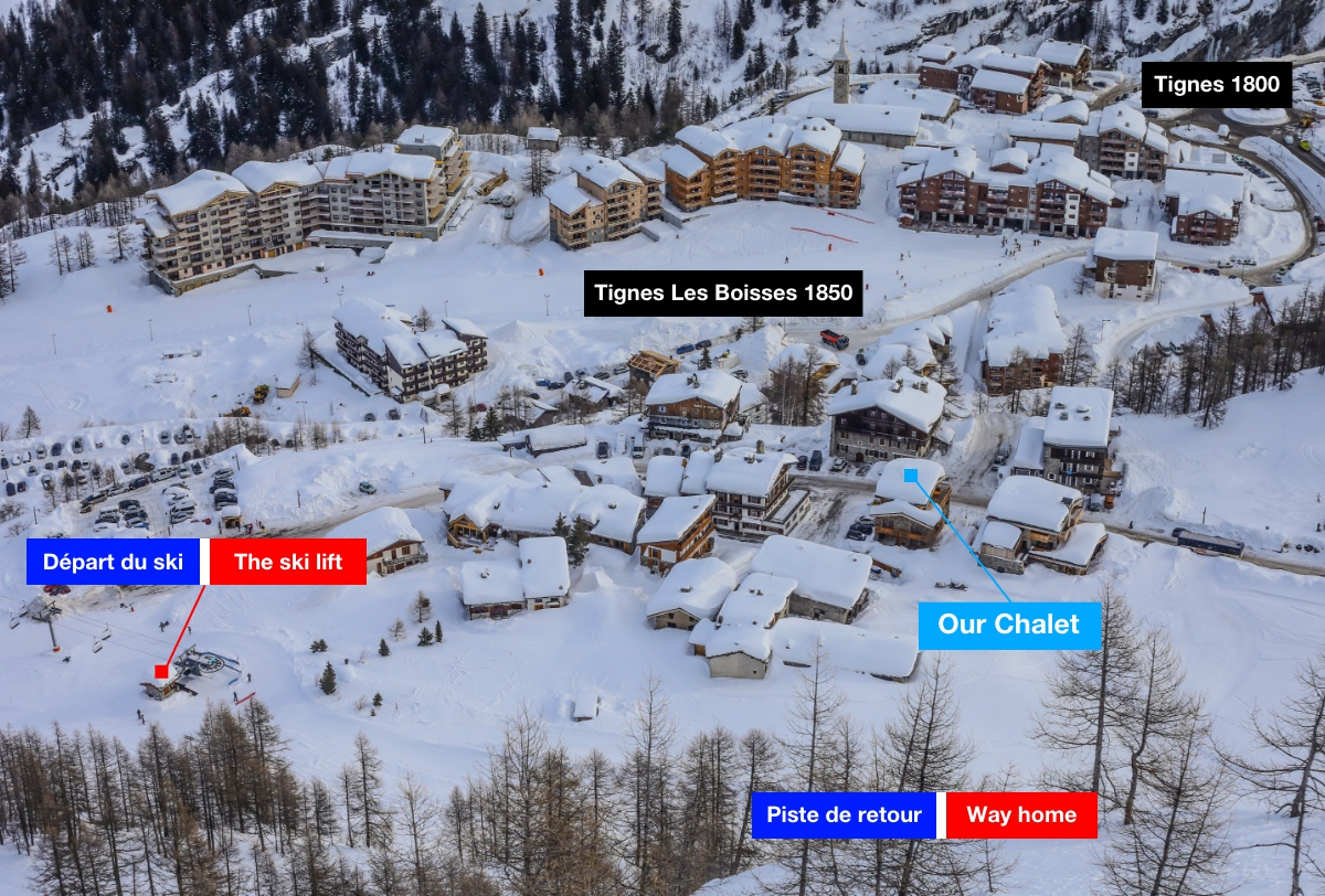 Reservation CHALET MONTE BIANCO - BED & BREAKFAST Tignes